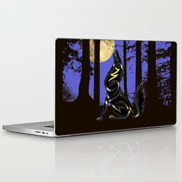 Celtic Knot Howling Wolf Laptop & iPad Skin
