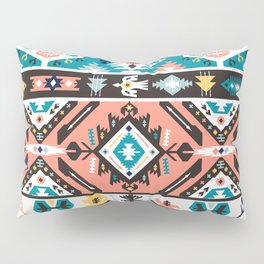 Tribal chic seamless colorful patterns Pillow Sham
