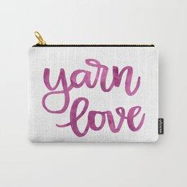 Yarn Love - Fuchsia Carry-All Pouch