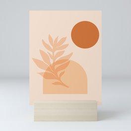 Abstraction_SUN_NATURE_Minimalism_001 Mini Art Print