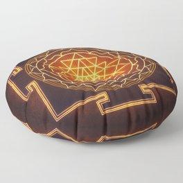 Sri Yantra XI Floor Pillow