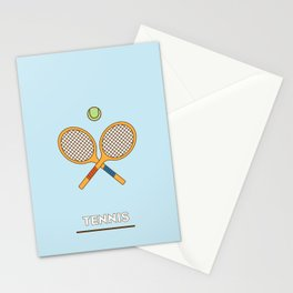 I am the sport! part3 tennis Stationery Cards
