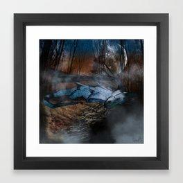 Wounded Dragon Framed Art Print