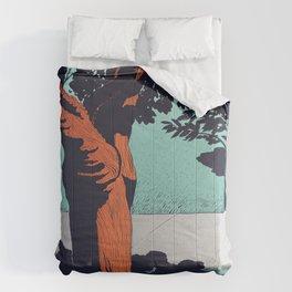 Dawson Park, Portland, Oregon Comforters