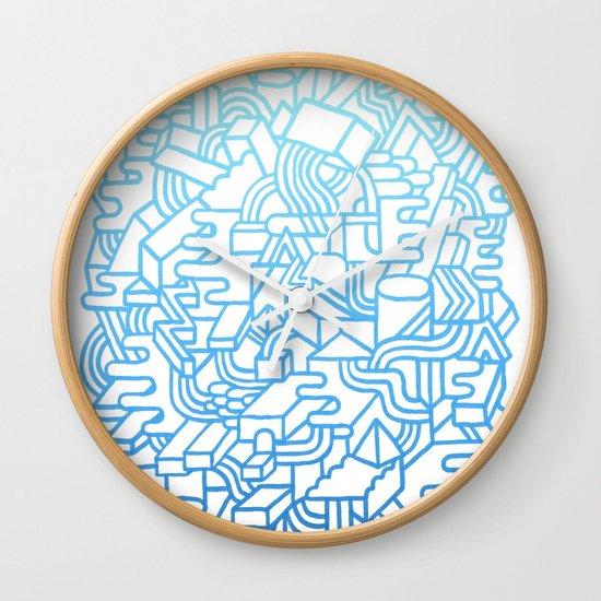 Wave Machine Wall Clock