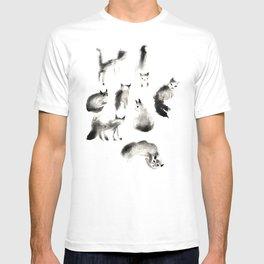 Cats Study T-shirt