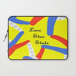 Lone Star State of Texas Laptop Sleeve