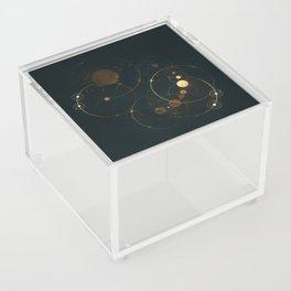 Day 1127 /// Cosmic Volume Overlap Acrylic Box