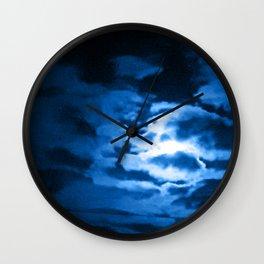 Troon moon Wall Clock