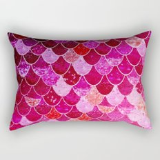 PINK  MERMAID Rectangular Pillow