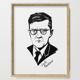 Shostakovich Serving Tray