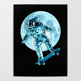 Astro Flip Poster