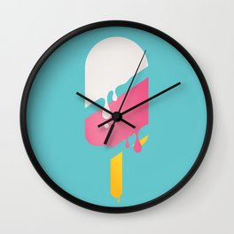 I'M MELTING Wall Clock