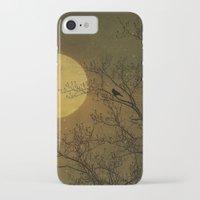 dark side iPhone & iPod Cases featuring Dark Side by RDelean