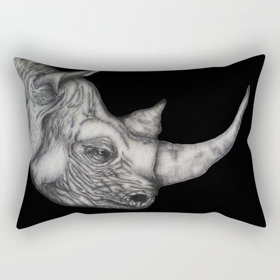 Roy in Black Rectangular Pillow