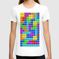 tetris T-shirts featuring Tetris by Rebekhaart