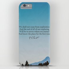 T.S. Eliot: Exploration iPhone 6 Plus Slim Case