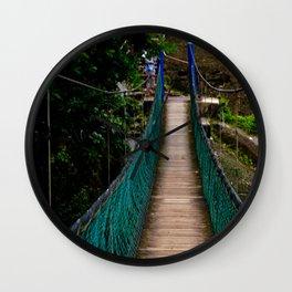 Swinging Bridge -Guam Wall Clock