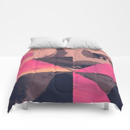 Triangular Magma Comforters