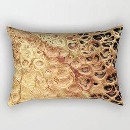 The Gold Rush Rectangular Pillow