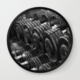 One Rep at a Time Wall Clock