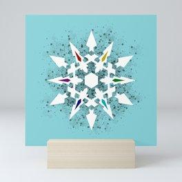 Ice Queen's Dust Mini Art Print