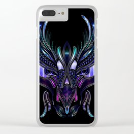 Dragon's Head Clear iPhone Case