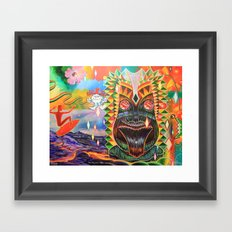 Punchy Framed Art Print