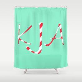 Custom Order in Piperita - Kristina Bertich - KJA Shower Curtain