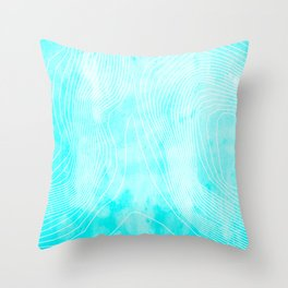 Topography - Everest Throw Pillow