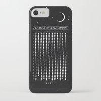 calendar iPhone & iPod Cases featuring 2015 Moon Calendar by Nick Wiinikka