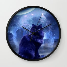The Witches Familiar Wall Clock