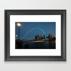 Millennium Bridge Framed Art Print