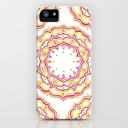 Royal Mandala iPhone Case