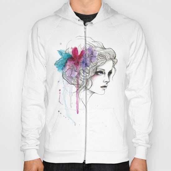Water Flowers Hoody