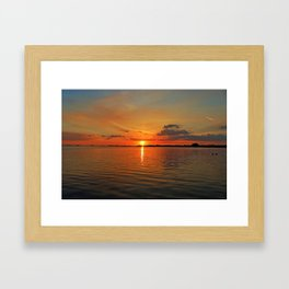 Windswept Charms Framed Art Print