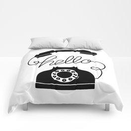 Hello Phone Comforters