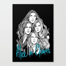 A Band Called Alice 2 Canvas Print