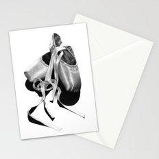 Ballet Dancer Shoes Stationery Cards