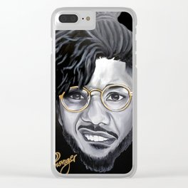 Killmonger Clear iPhone Case