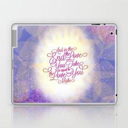 TYPOGRAPHY DESIGN Laptop & iPad Skin