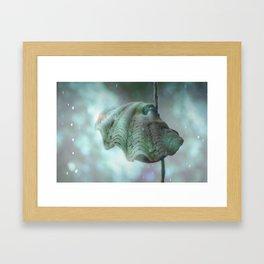 Seadust Framed Art Print