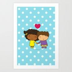 My Valentine Art Print