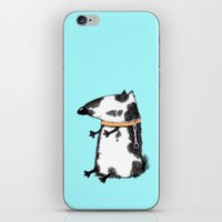 dog iPhone & iPod Skins featuring DOG by Кaterina Кalinich