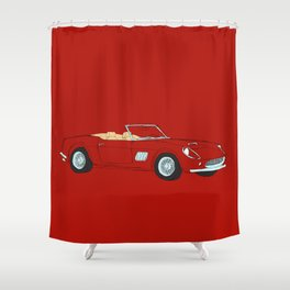 Ferrari 250 GT Califonia Spyder Shower Curtain