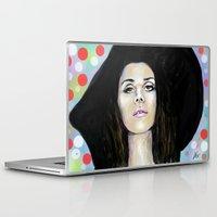 lana Laptop & iPad Skins featuring Lana  by Fernando Cisneros