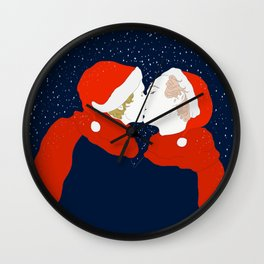 Stars shining right above us Wall Clock