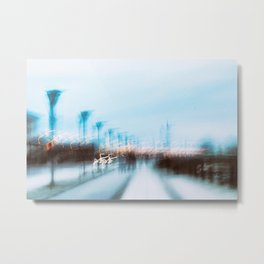Malmo In Motion 4 Metal Print