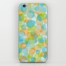Pebbles Turquoise iPhone & iPod Skin