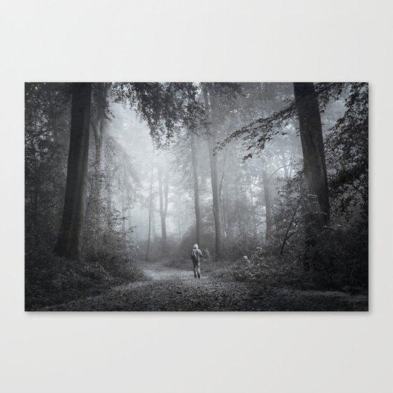 seeking silence Canvas Print